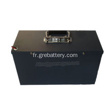 Batterie rechargeable de moto au lithium de rechange